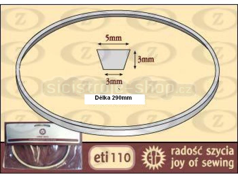 Řemínek pro šicí stroje Eti R290
