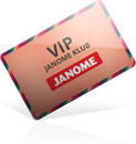 VIP Janome klub