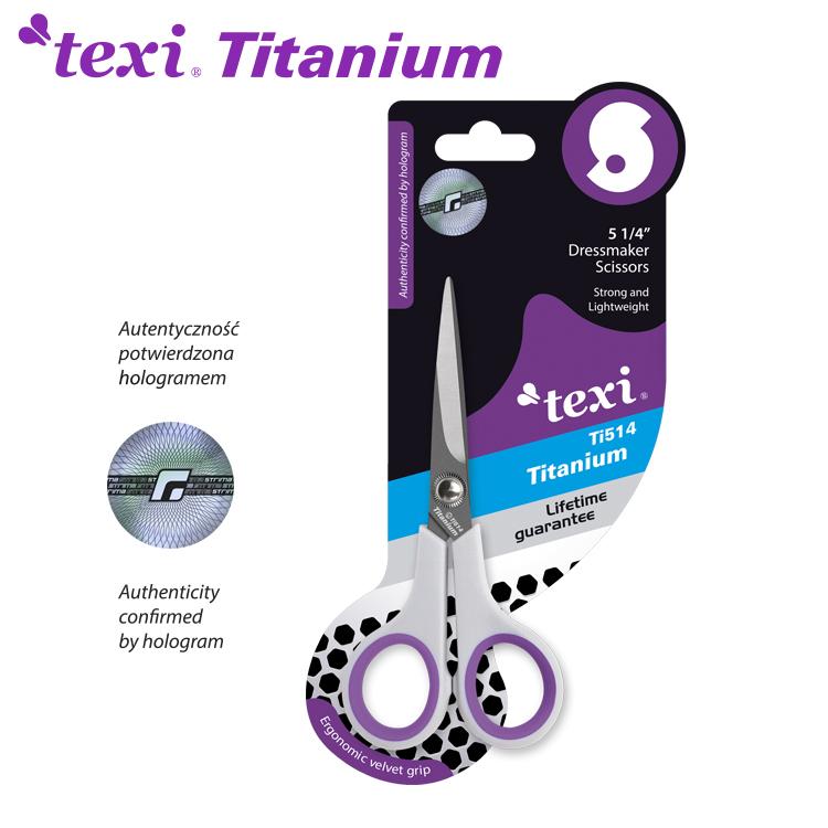 Titanové nůžky TITANIUM Ti514