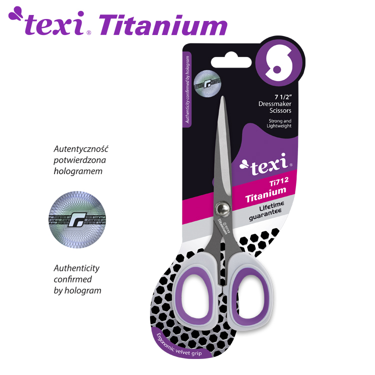 Titanové nůžky TITANIUM Ti712