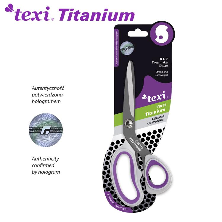 Titanové nůžky TITANIUM Ti812