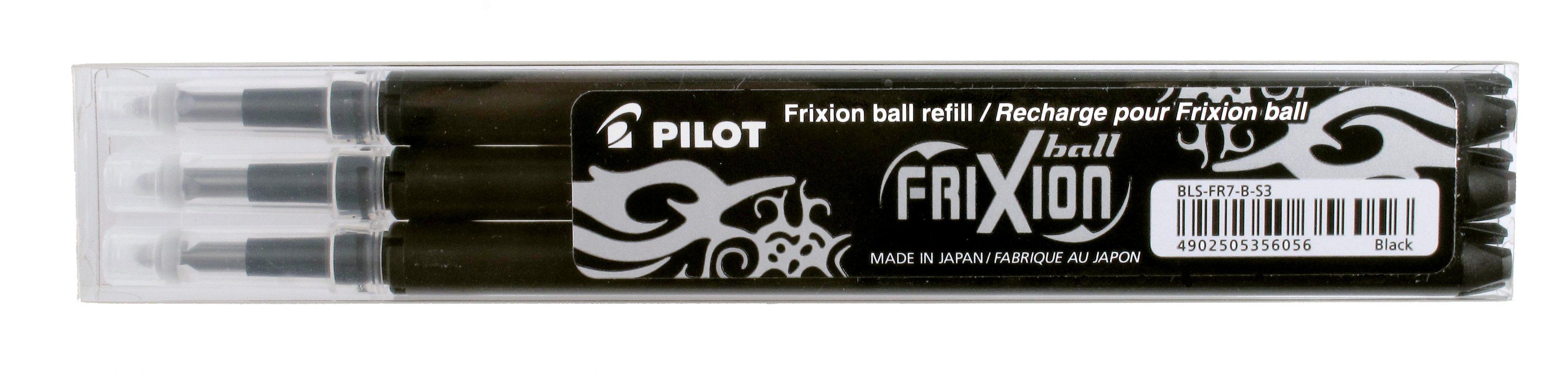 Pilot FriXion POINT náplň 3ks-černá