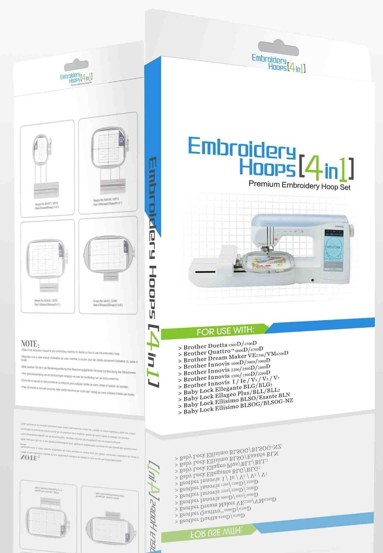 Vyšívací rámečky Sewtech EF73, EF74, EF75, EF81