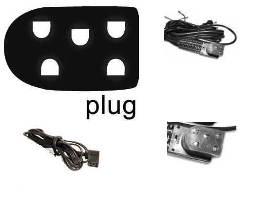 Kabel pro domácí šicí stroje SINGER - 5 kolík - 798