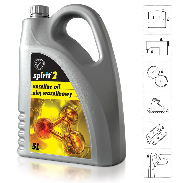 Olej pro šicí stroje SPIRIT 2 - 5L
