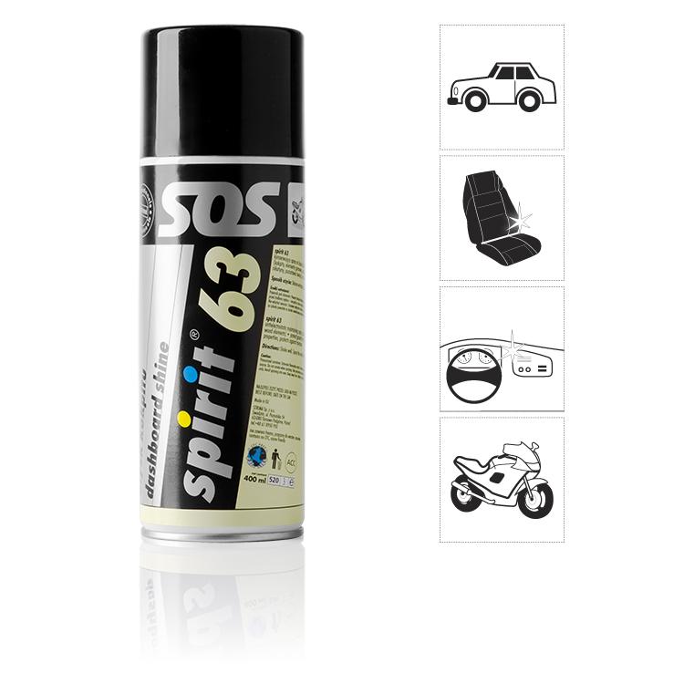 Kokpit pro auta SPIRIT 63 - spray 400 ml