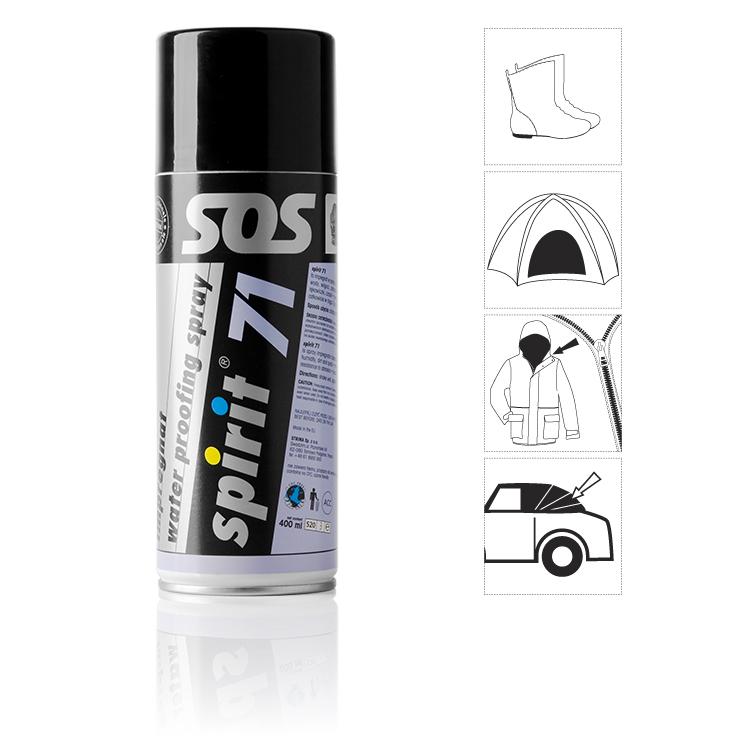 Impregnace obuvi SPIRIT 71 - spray 400 ml
