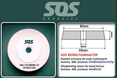 Brusný kámen - medium pro pásové pily Oshima, KM, Eastman, Dayang
