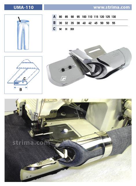 Zakladač pro šicí stroje UMA-110 100/40 M