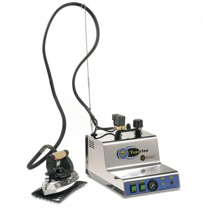 Systémová parní žehlička BATTISTELLA VAPORINO MAXI INOX + zdarma Teflonový návlek pro žehličku